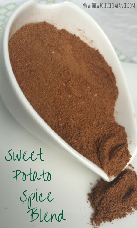 Sweet Potato Spice Blend -- a simple but nutrient-dense spice blend to top sweet potatoes in ANY form! So delectable! | www.thewholelifebalance.com