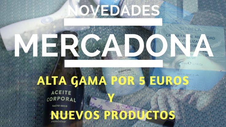 NUEVO EN MERCADONA - LA FAMOSA CREMA ALTA GAMA Y OTROS PRODUCTOS NUEVOS ...