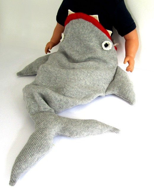 Baby halloween costume idea. Shark