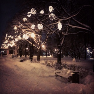 Gorky Park #Moscow #winter