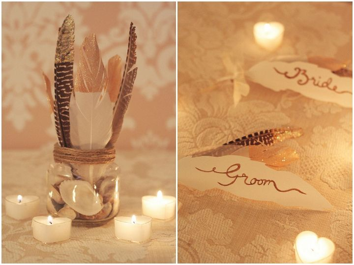 Diy tutorial gold dipped feathers pinterest