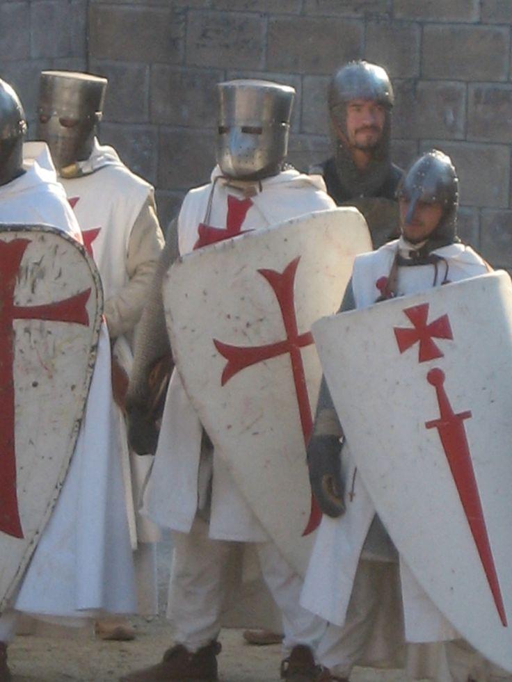 """Knights Templar:  """"#Templar #Knight 13,"""" by chavi-dragon, at deviantART."""