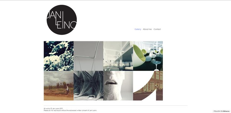 Simple, Professional Layout - images add life to the page