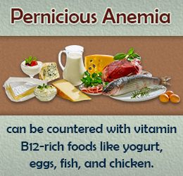 Diet tip to treat pernicious anemia