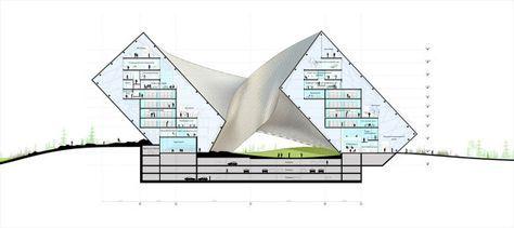 Biblioteca Nacional do Cazaquistão – Astana – BIG | concursosdeprojeto.org