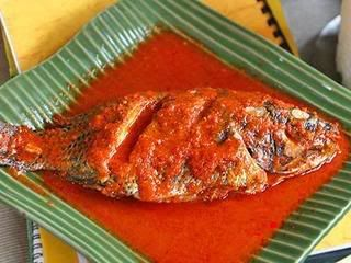 Fish in Sour Sauce