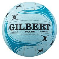 GILBERT PULSE NETBALL is INF approved entry level outdoor match and training ball Available in pink too!