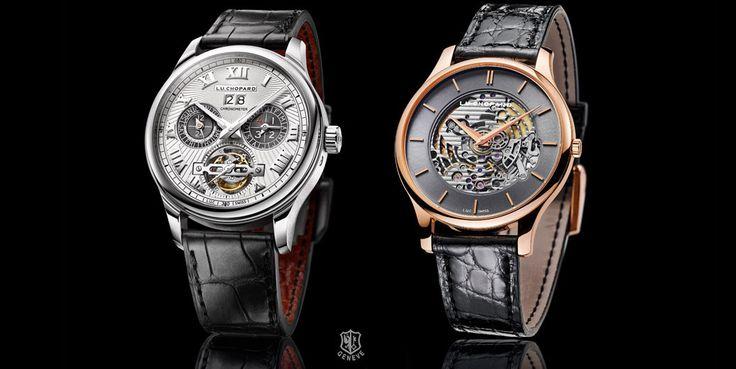 Chopard presenta dos nuevos relojes L.U.C, su categoría más alta, cada uno con una personalidad diferente pero ambos con altísimos niveles de calidad