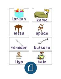Basic Vocabulary Words in Tagalog