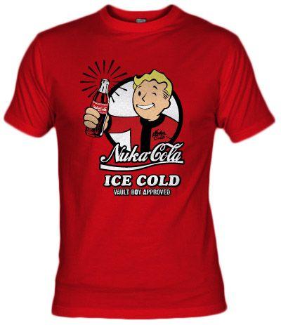 Camiseta Nuka Cola V2 Ice Cold - Fanisetas.com - Vault boy aproved