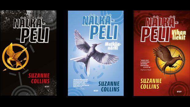 Susan Collins: Nälkäpeli-trilogia. Yksittäin pokkareina esim cdon n. 9 €/kpl tai yhteisniteenä.