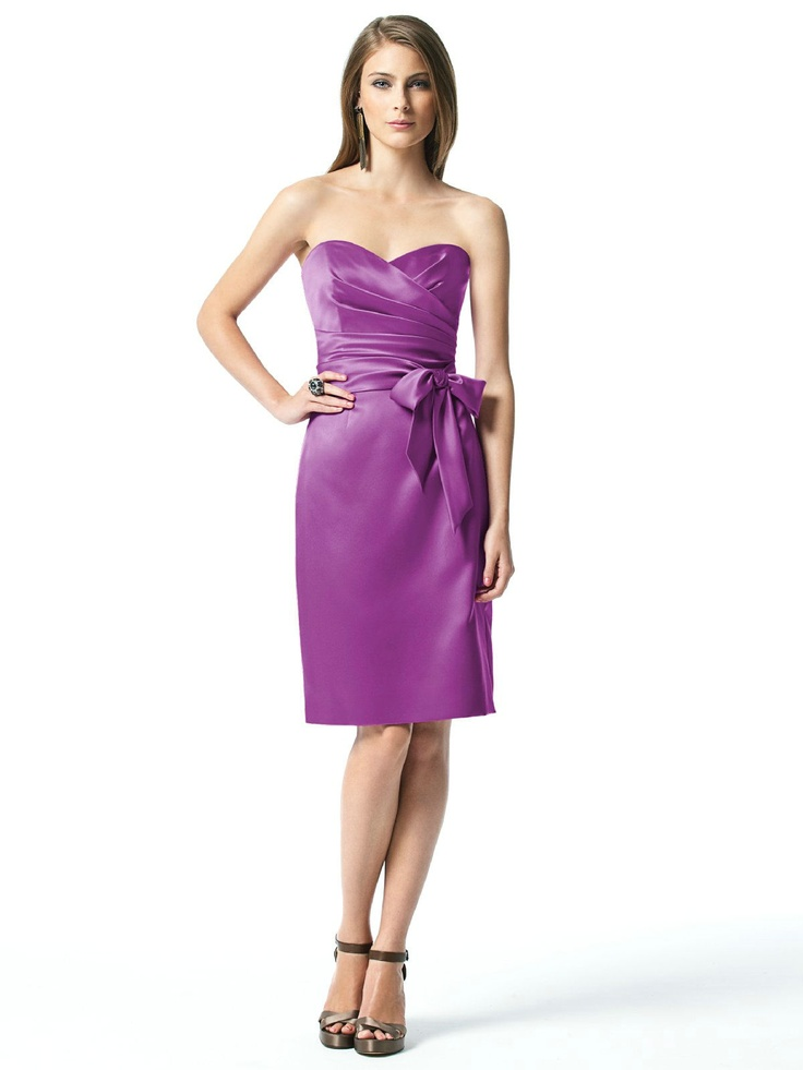 97 best strapless purple bridesmaid dress images on Pinterest ...