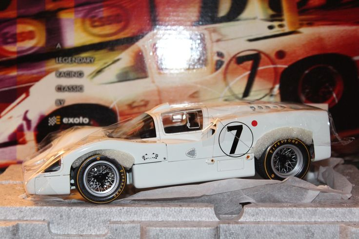 """Tipus 2 F 1967 Le Mans """" Hill/Spence @CollecCarModels"""