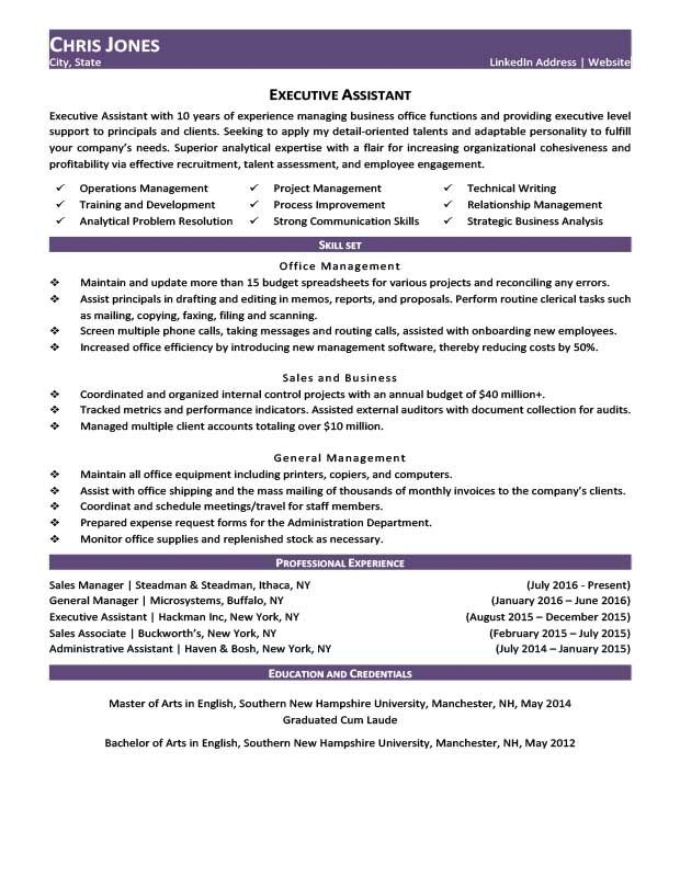 Amethyst Purple Job Hopper Resume Template