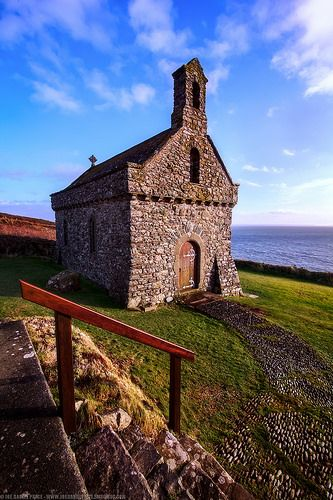 The Chapel of St Non's, St David's, Pembrokeshire, Wales
