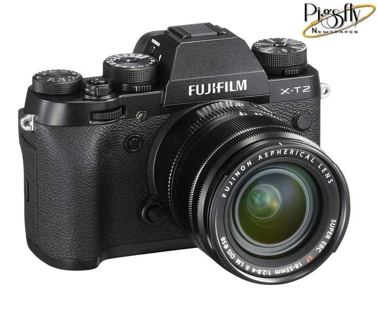 Fuji unveils new flagship mirrorless camera