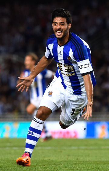 Carlos Vela 11 - Real Sociedad