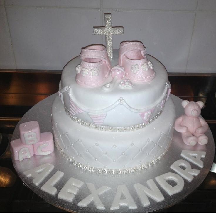 My first Christening cake.
