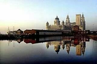 Liverpool Water Front Canning Dock
