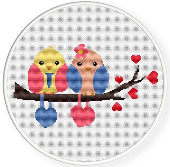 INSTANT DOWNLOADFree shippingCounted Cross stitch par danceneedle