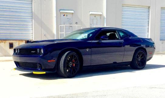 2015 Dodge Challenger HELLCAT Jazz Blue With Black