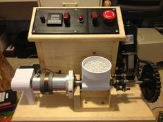 My version of the LYMAN FILAMENT EXTRUDER by bottleworks - Thingiverse Maybe something for 3D Printer Chat?