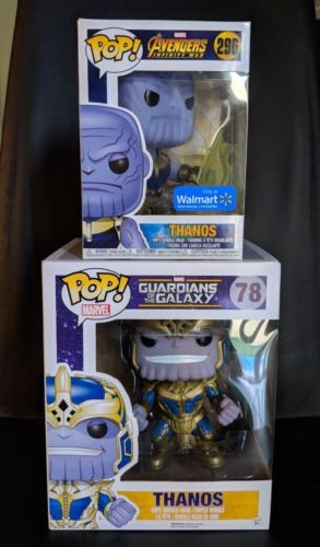 Funko Pop Marvel Avengers Infinity War Thanos And Walmart Exclusive