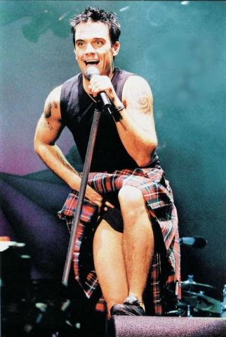 [Robbie Williams] Robbie Williams Popular English singer.