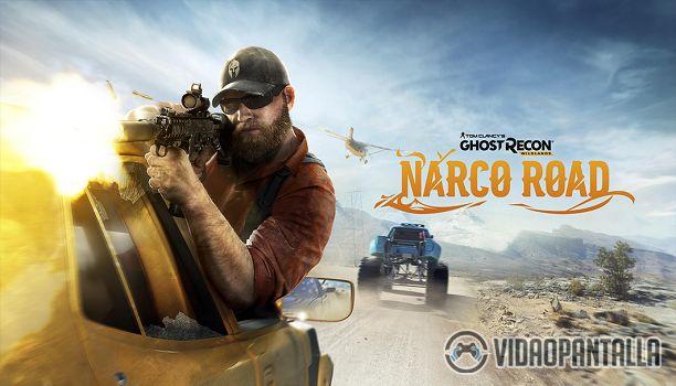 Ubisoft ha anunciado que la primera expansión de Tom Clancys Ghost Recon Wildlands llamada Narco Road estará disponible el 18 de abril para los que adquirieron el pase de temporada. Más adelante el 25 de abril se lanzará la expansión de forma independiente.  En Narco Road nuestro objetivo será infiltrarnos en tres bandas de contrabando dirigidas por El Invisible para poder finalmente detener a éste. La primera banda es la de los Kamikazes y su cabecilla es Eddie Escovado un experto en medios…