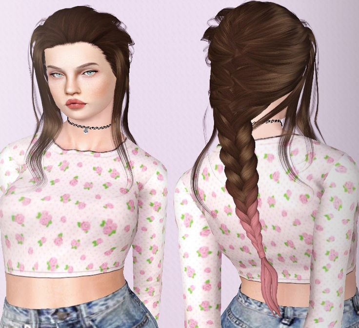 DescargasSims (Leah Lillith Daydream - Retextured Female Teen -...)