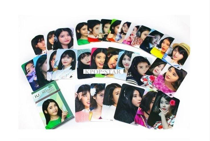 IU Photo Message Card ( 30 Piece ) KPOP K-POP Korean K Pop