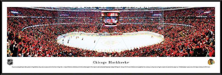 Chicago Blackhawks Panoramic - United Center Picture