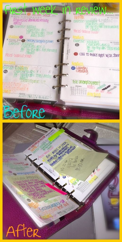 Filofax first week in review
