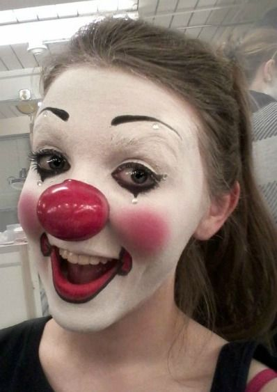 Circus Makeup by Jessica Vodnik, via Behance