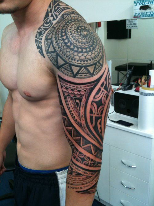 I like this polynesian spiral originating where it does on ...