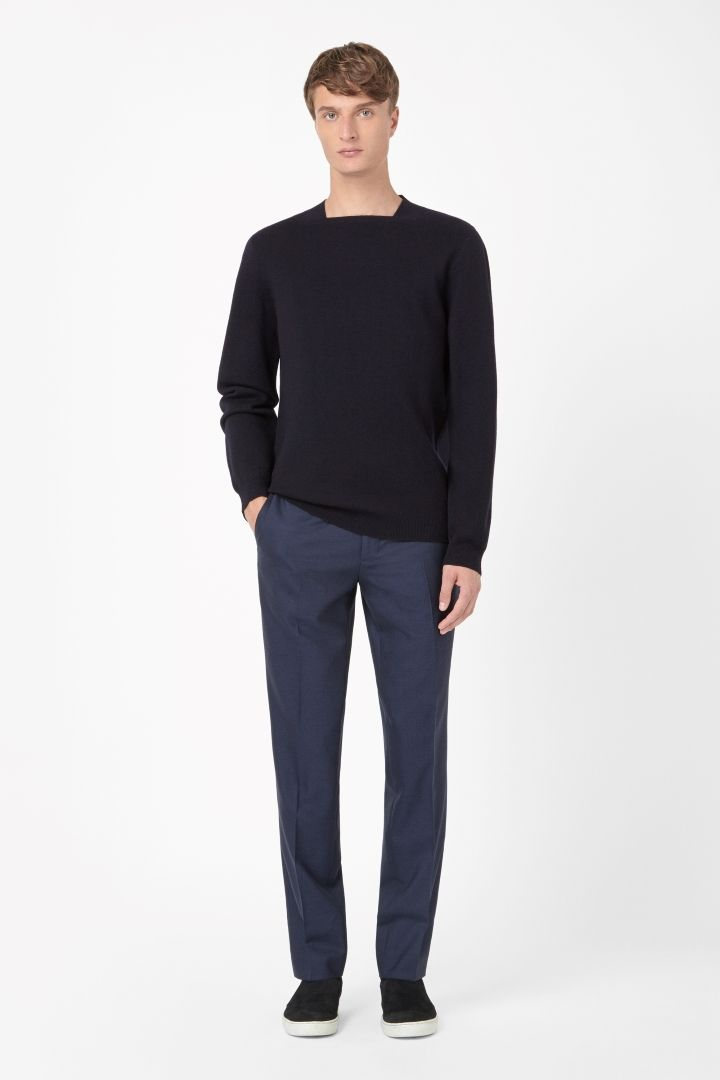 COS | Square neck jumper