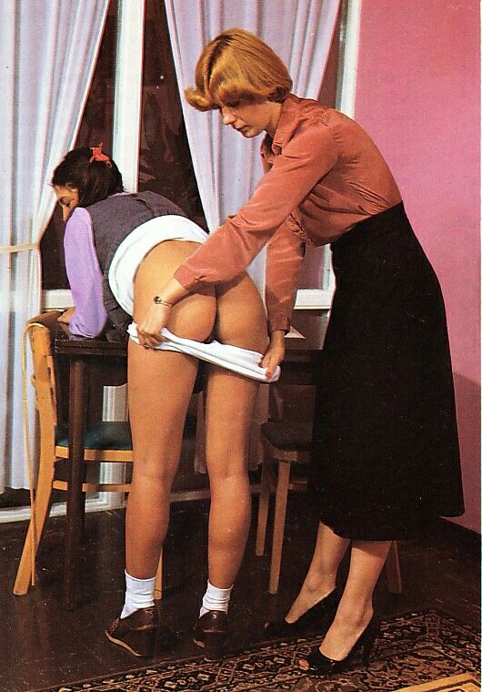 Schoolgirl spanked to tears 5