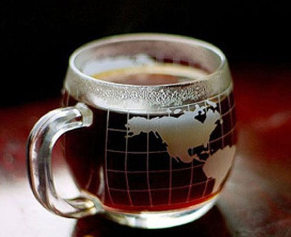 13 best world coffee images on pinterest coffee cups coffee nescafe vintage nestle coffee world globe map cup mug nice condition sciox Image collections