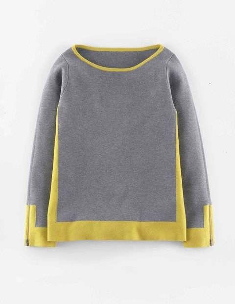 Zip Sleeve Sweater