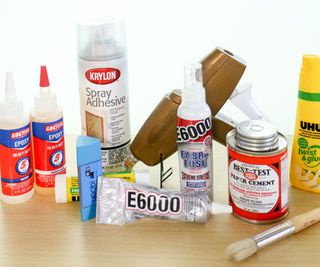Find out the right adhesives for sticking almost any material together without using fasteners, hardware, or stitches.