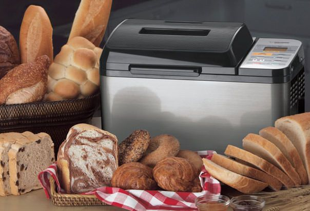"Zojirushi BB-PAC20 ""A revolutionary heating element built into our Home Bakery Virtuoso Breadmaker changes the way you can bake bread at home."""