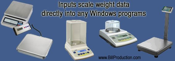 Scale Software www.BillProduction.com
