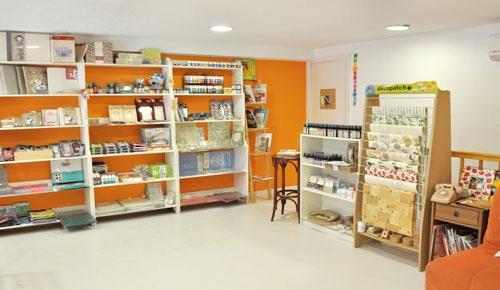 Scrapbook shop
