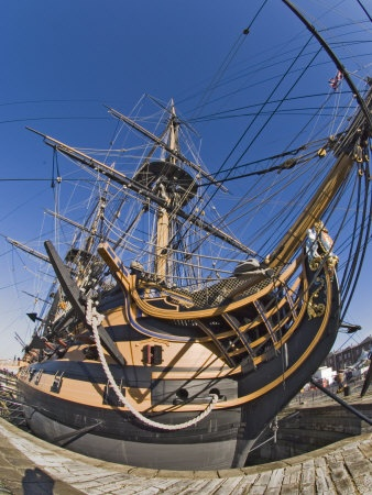 Hms Victory, Portsmouth Historical Dockyard, Portsmouth, Hampshire, England, ...    allposters.co.uk