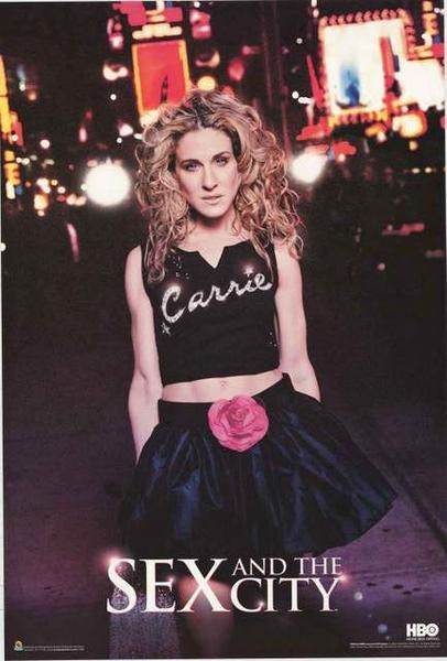 An awesome poster of Carrie (Sarah Jessica Parker) from the classic TV show Sex and the City! Published in 2007. Fully licensed. Ships fast. 24x36 inches. Need Poster Mounts..? bm9048