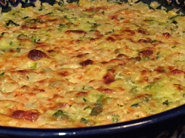 WW aufgehellte Zucchini, Rezept für einen herzhaften Zucchini-Gratin und …   – Cuisine