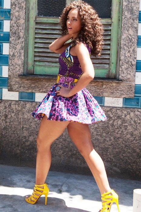 Alicia Keys Thickness of a Black Woman combined with Style