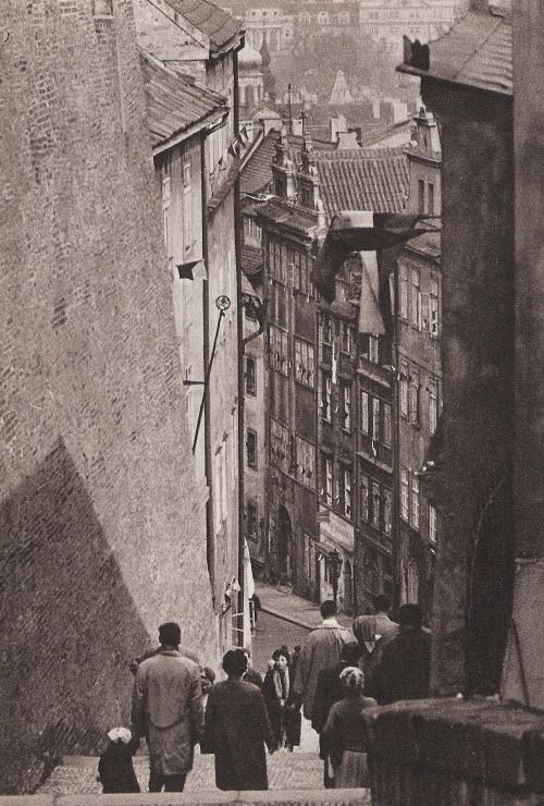 Prague by M.Peterka, 60's