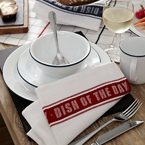Buy John Lewis Tableware Restoration Online at johnlewis.com