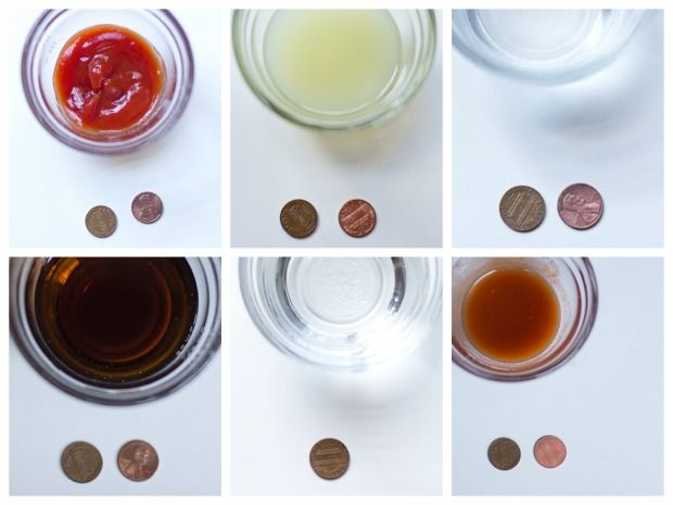 Penny Cleaning Science Project